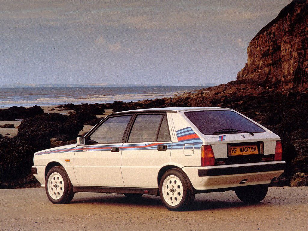 1992 Martini Lancia Delta HF Integrale Group A. (Source: automotivated)