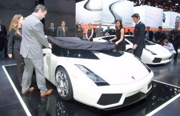 lamborghini concept s, geneva auto show