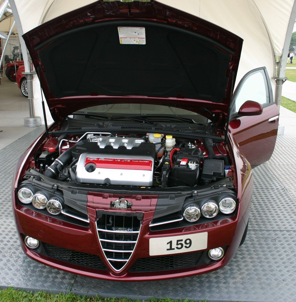 2005 Alfa Romeo 159 1.9 JTS Related Infomation