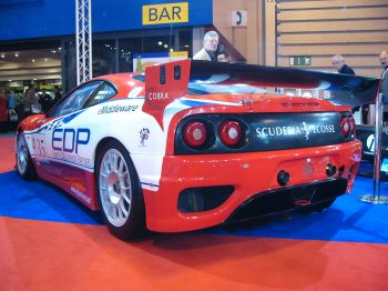 Championship Auto Racing Teams 2005 Schedule on Scuderia Ecosse Has Unveiled Its New Racing Colours At Autosport