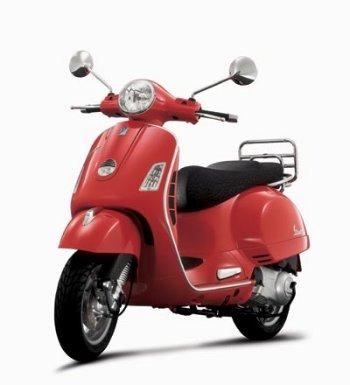 Italian Vespa Scooters