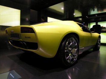 Lamborghini Miura Concept on For Its European Public Debut Walter De Silva Styled Miura  Concept