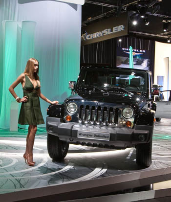 JEEP WRANGLER UNLIMITED CUSTOMIZED BY MOPAR AT THE 63RD FRANKFURT IAA 2009