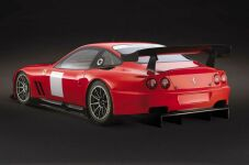click here to see larger images of the Prodrive Ferrari 550 Maranello