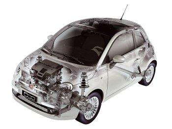 Fiat 500 fuel capacity