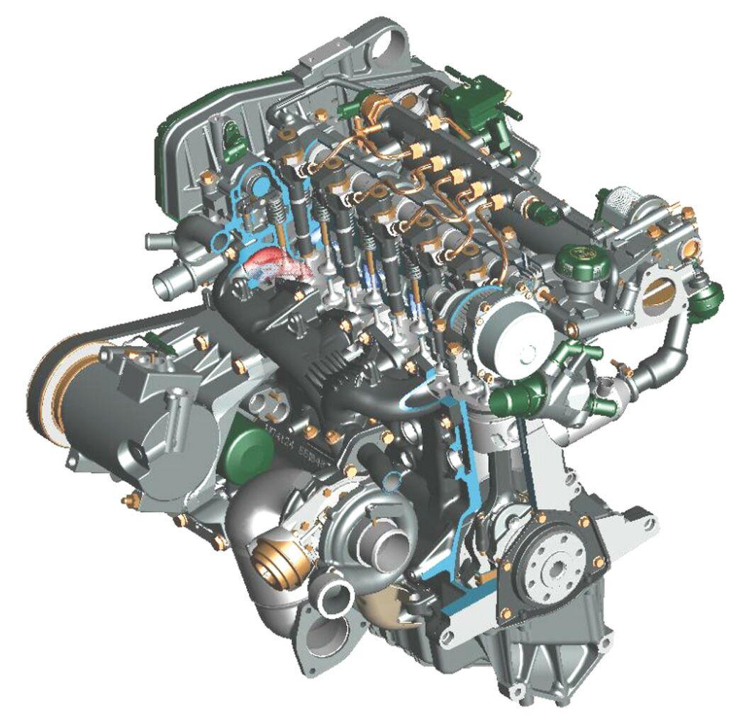 Alfa romeo 156 exhaust manifold