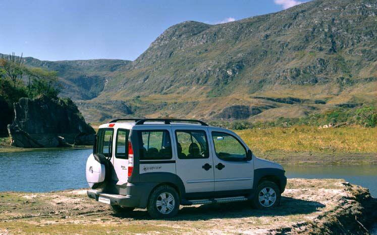 Fiat Doblo Adventure.