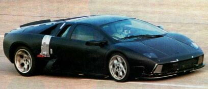 click here to see larger image of Lamborghini Diablo replacement out testing