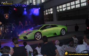 click here for the full story of the launch of the new Lamborghini Murcielargo