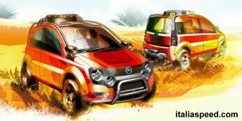 the Fiat Simba mini off roader prototype will make its first public appearance at the Bologna Motor Show, click here for further details of the Simba
