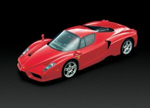 without doubt Ferrari's 660 bhp Enzo supercar will be one of the show's stars
