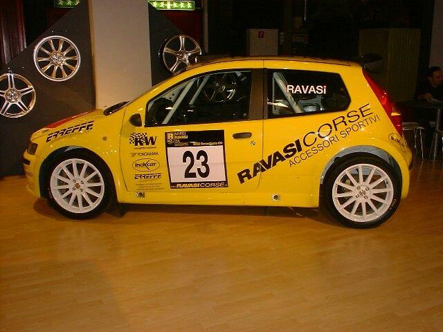 Italiaspeed Fiat Punto Abarth Rally At The 2003 Geneva Motor Show