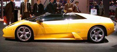 Italiaspeed Com Lamborghini Murcielago Concept At The 2003 Detroit