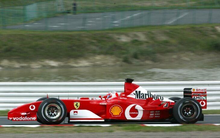 Ferrari F2002 Junglekey Com Image